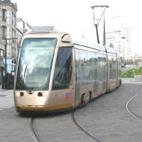 Трамвайная линия в  «Новой Москве»