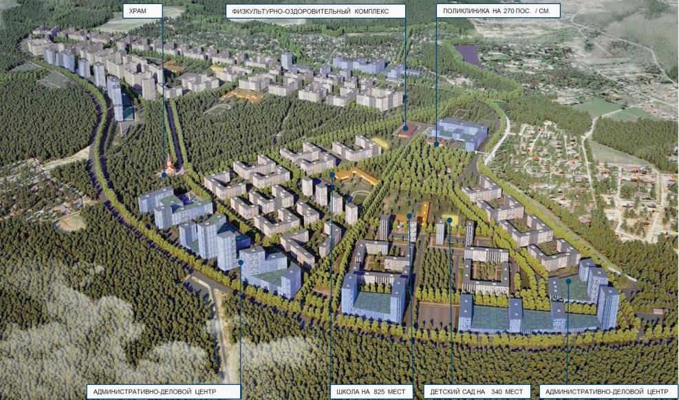 В районе поселка Филимонковское появится общественная застройка