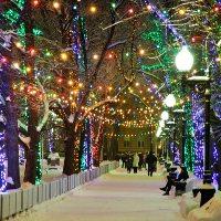 Новомосковский округ Новый год