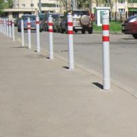 Ограждения для автомобилей на газонах и тротуарах