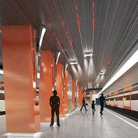 Новый участок линии метро включающий станцию «Рассказовка» планируется сдать в эксплуатацию в 2017