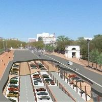 Парковочные места в административно-деловом центре в Коммунарке планируется построить под дорогами