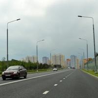 Собянин открыл центральную автодорогу в поселке Коммунарка