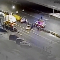 Боровское шоссе перекрыли из-за упавшего светофора