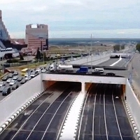 Сергей Собянин открыл новые тоннели и эстакады на Калужском шоссе