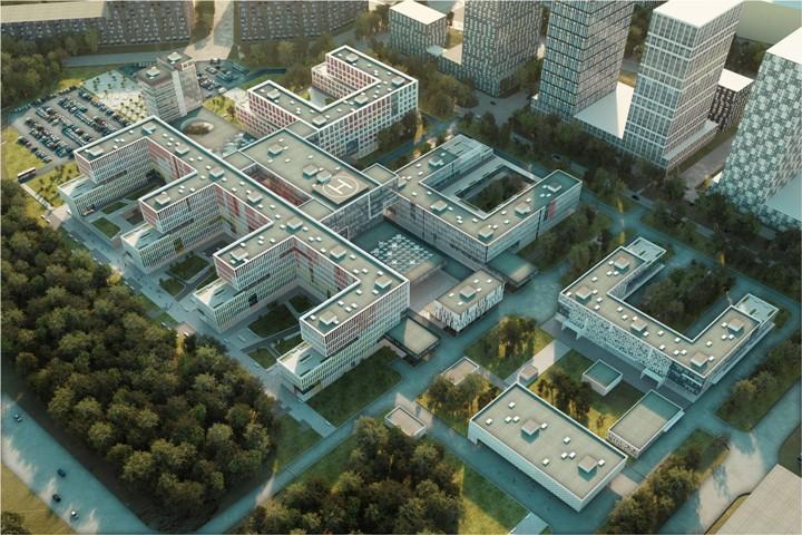 «Москва 24» рассказала о многопрофильной больнице в Коммунарке