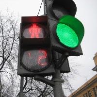 Новый светофор установят в поселение Московский