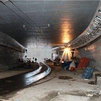 Завершается строительство разворотного тоннеля на Калужском шоссе