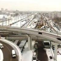 Реконструкцию развязки МКАД - Профсоюзная улица закончат в 2017 году