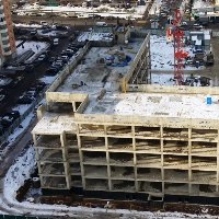 Строительство поликлиники в Новомосковском округе завершат во 2 квартале 2018 года