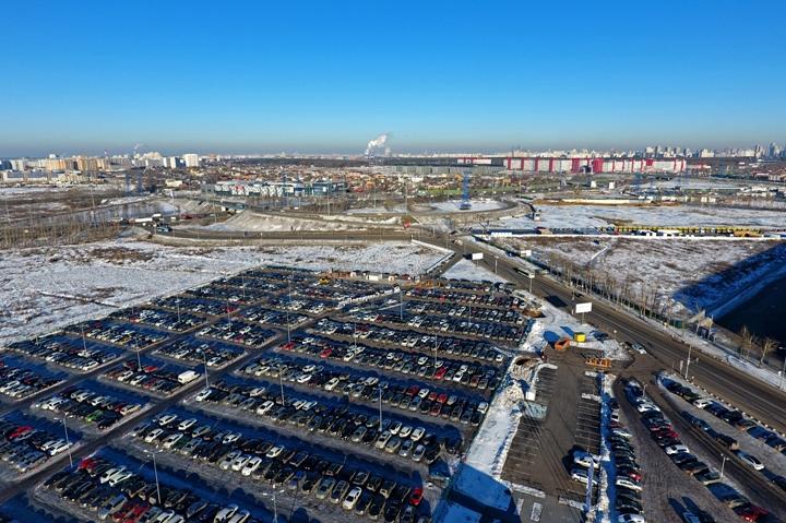 Во II квартале 2017 года  начнут строить подъездные пути к станции метро «Саларьево»