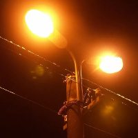 Опоры уличного освещения в Щербинке планируют подключить 1 мая 2017 года