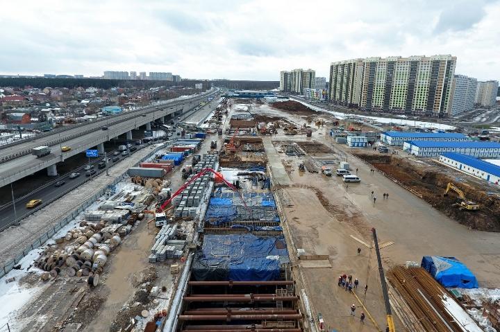 В начале следующего года планируется ввести в эксплуатацию участок метро «Раменки» - «Рассказовка»