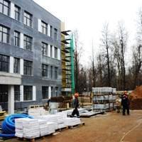 Строительство школы на 600 учеников в Новомосковском округе завершат летом 2018 года