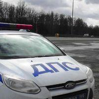 Последствия ДТП с участием двух грузовых автомобилей на Киевском шоссе