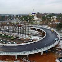 Завершено строительство автодорожного переезда в Переделкино