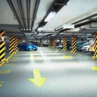 В Новомосковском административном округе завершается строительство паркинга