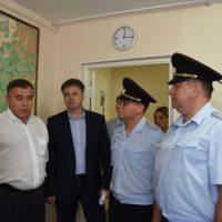 В Новомосковском округе состоялось торжественное открытие участкового пункта полиции