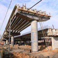Развязку Киевского шоссе возле метро «Саларьево» реконструируют