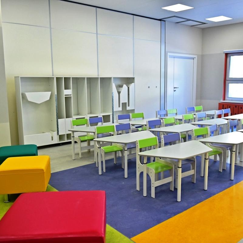 Завершено строительство детского сада на 120 мест в Новомосковском административном округе