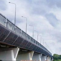 Автомобильный мост через реку Молодцы построили в Новомосковском округе