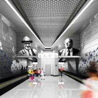 Москомархитектура согласовала проект станции метро «Внуково»