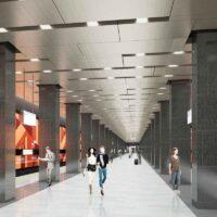 Станцию метро «Мамыри» оформят в осенних тонах