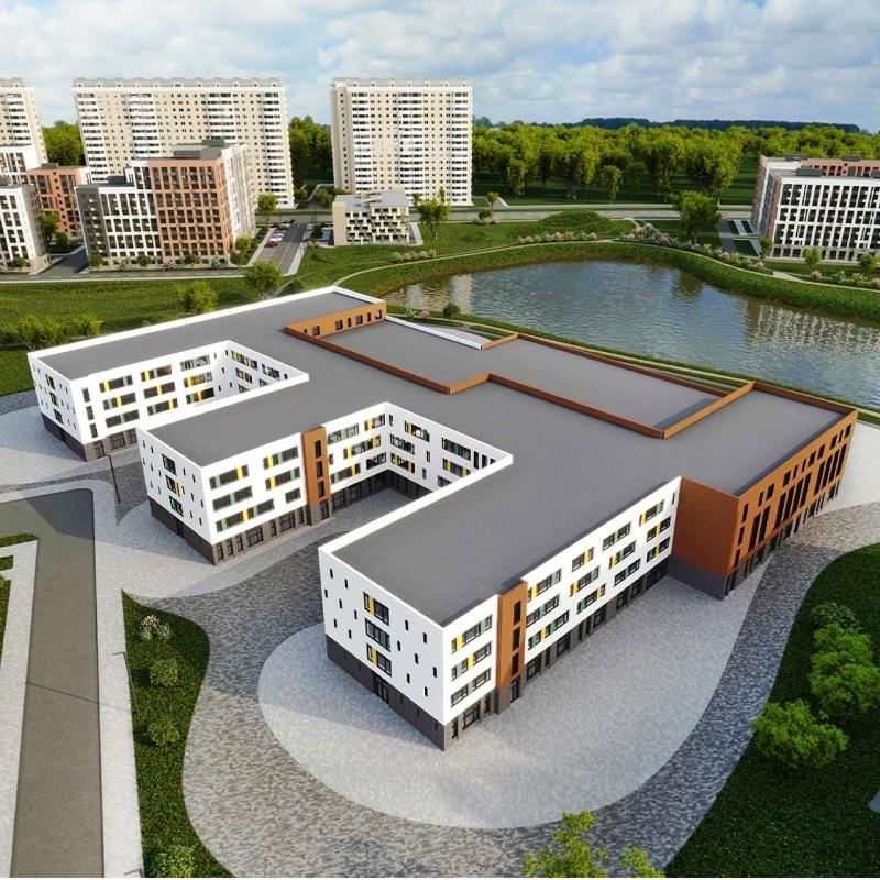 В Новомосковском округе возведут школу из трех корпусов на 2100 учеников