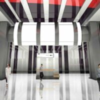 «Светильник-турбина» украсит станцию «Бачуринская» Коммунарской линии метро
